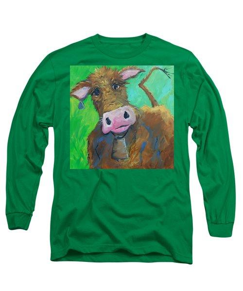 Chocolate Milk Long Sleeve T-Shirt by Terri Einer