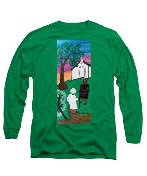 Church Ladies  Long Sleeve T-Shirt by Mildred Chatman