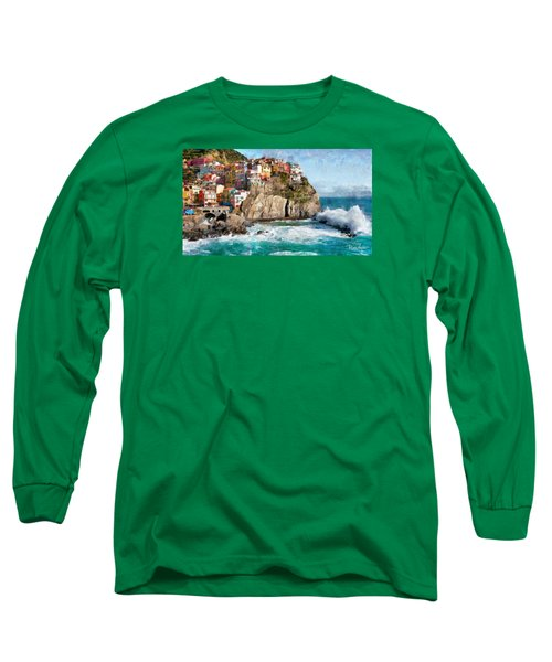 Cinque Terre - Italy Long Sleeve T-Shirt