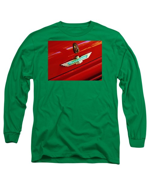 Classic Ford Thunderbird Emblem Long Sleeve T-Shirt