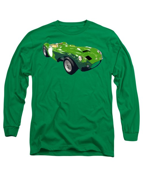 Classic Sports Green Art Long Sleeve T-Shirt