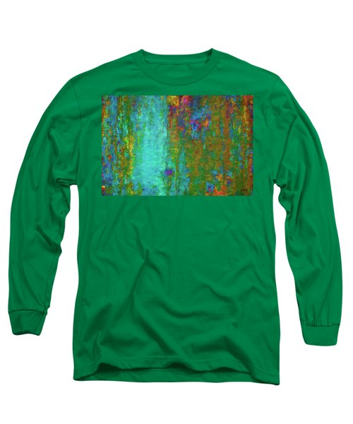 Color Abstraction Lxvii Long Sleeve T-Shirt