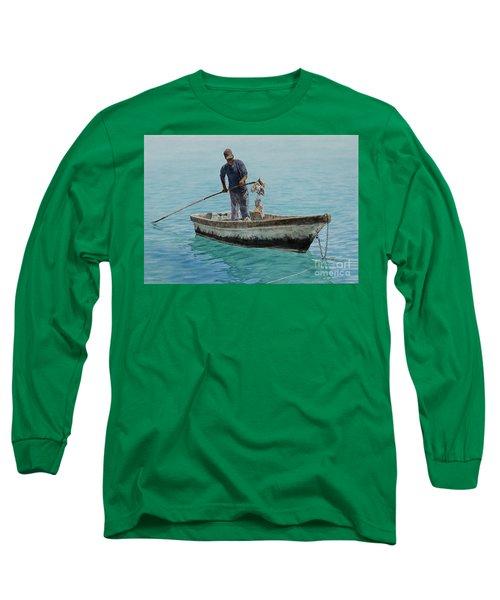 Conch Pearl Long Sleeve T-Shirt
