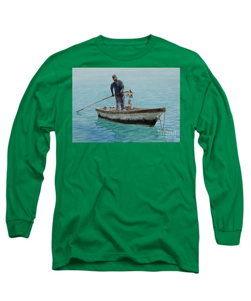 Conch Pearl Long Sleeve T-Shirt