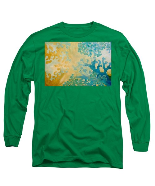 Cool Coral Long Sleeve T-Shirt by Dina Dargo