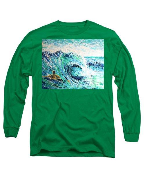 Crossing The Sandbar Long Sleeve T-Shirt