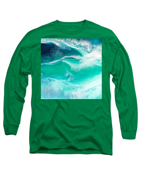 Crystal Wave12 Long Sleeve T-Shirt