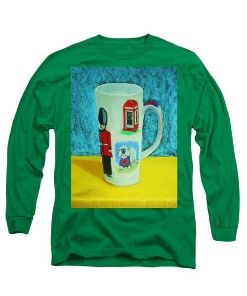 Cup Of London Java Long Sleeve T-Shirt