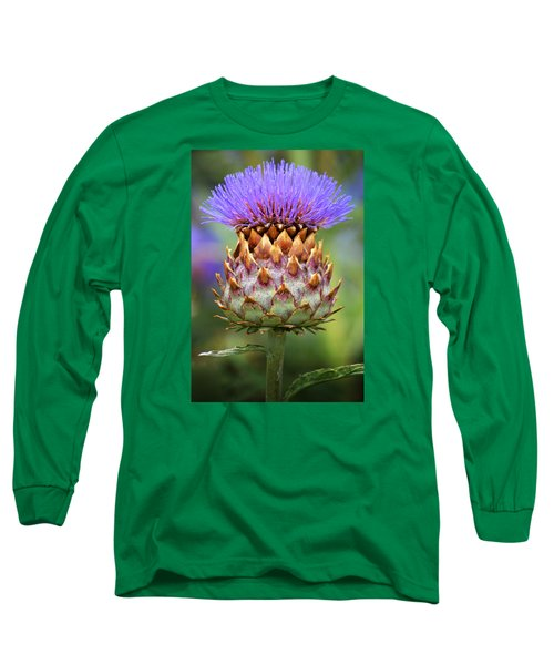 Cynara Cardunculus. Long Sleeve T-Shirt by Terence Davis