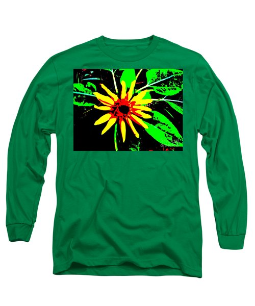Daisy Long Sleeve T-Shirt by Tim Townsend