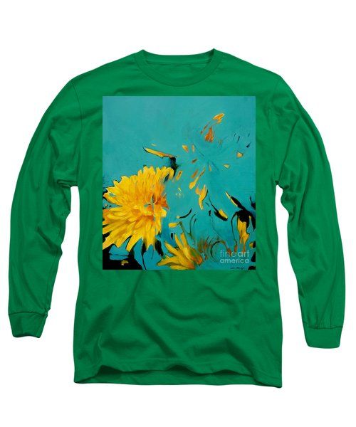 Dandelion Summer Long Sleeve T-Shirt