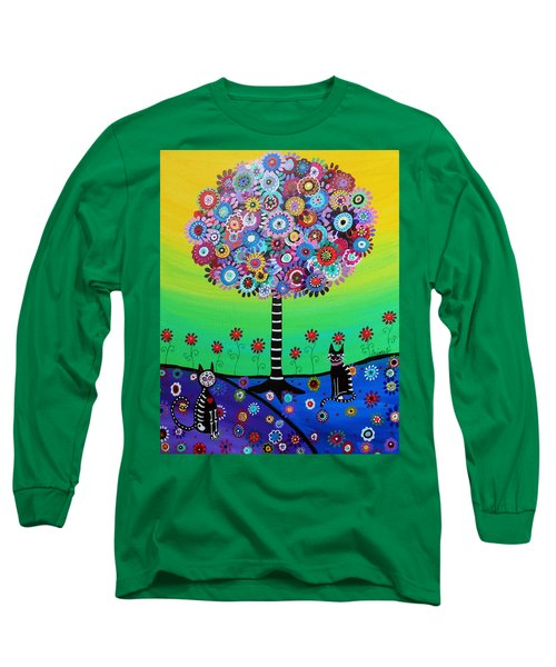 Day Of The Dead Cat'slife Long Sleeve T-Shirt