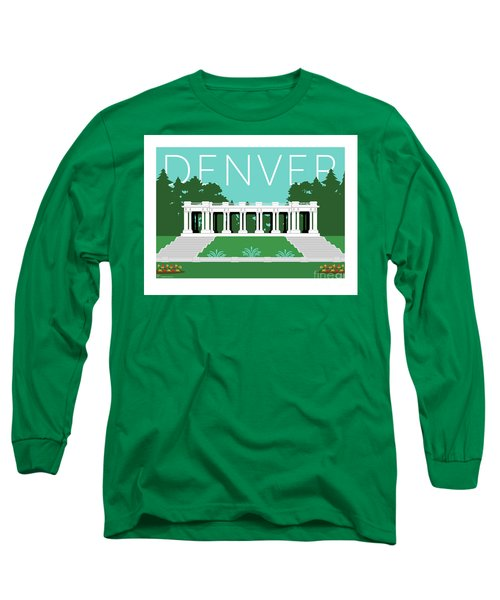 Denver Cheesman Park/lt Blue Long Sleeve T-Shirt