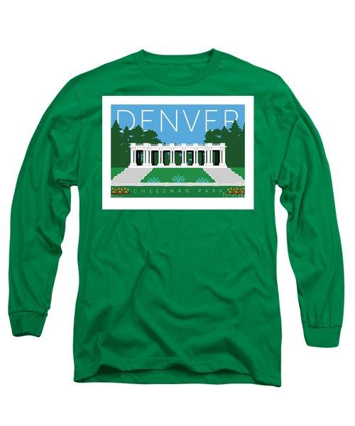 Denver Cheesman Park Long Sleeve T-Shirt