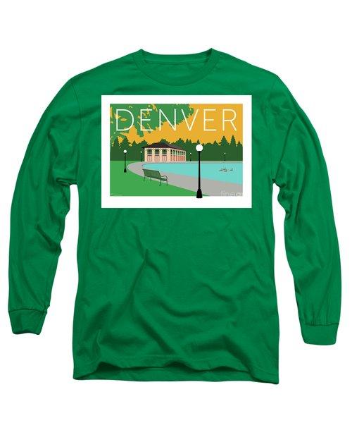 Denver Washington Park/gold Long Sleeve T-Shirt