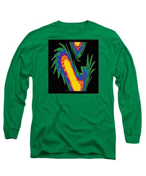Long Sleeve T-Shirt featuring the photograph Digital Art 10 by Suhas Tavkar