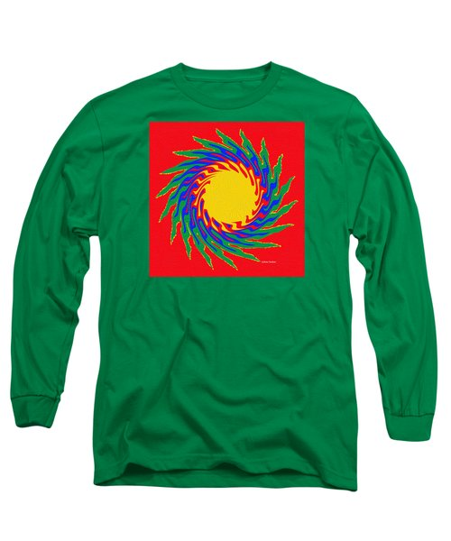 Digital Art 8 Long Sleeve T-Shirt