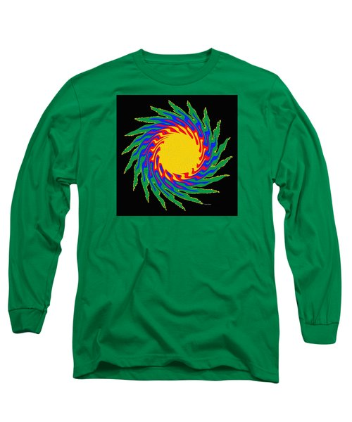 Digital Art 9 Long Sleeve T-Shirt