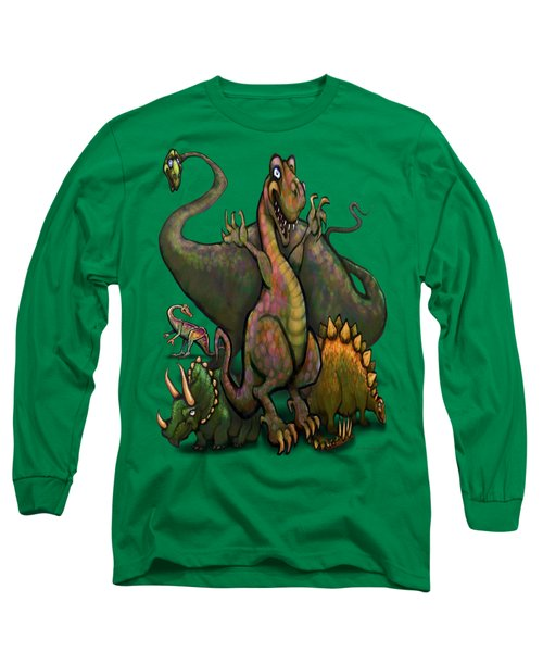 Dinosaurs Long Sleeve T-Shirt by Kevin Middleton