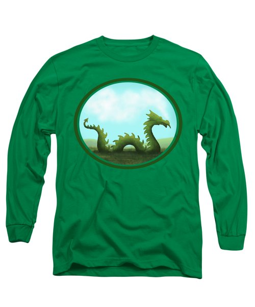 Dream Of A Dragon Long Sleeve T-Shirt by Little Bunny Sunshine