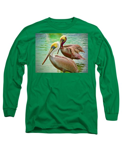 Duets Long Sleeve T-Shirt by Judy Kay