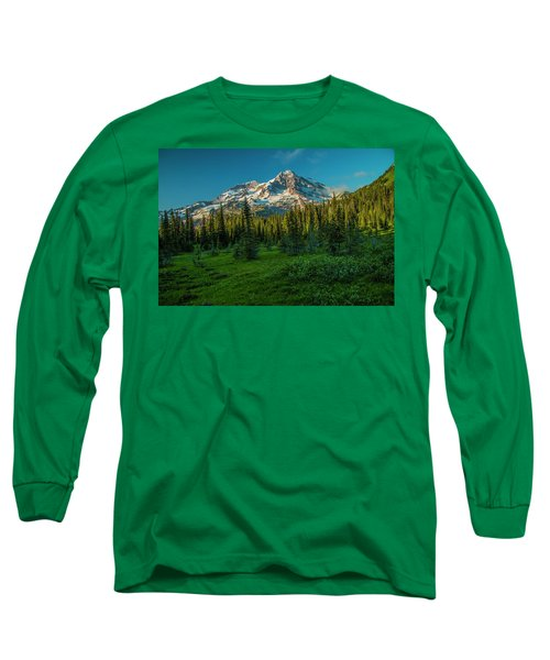 Dusk At Indian Henry Campground Long Sleeve T-Shirt