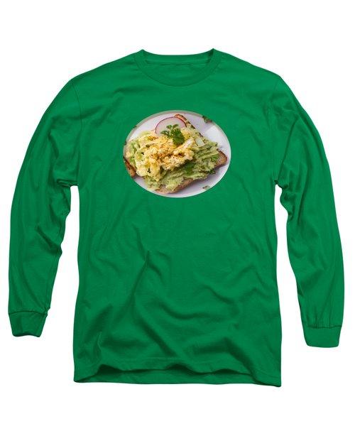 Egg Sandwich Long Sleeve T-Shirt