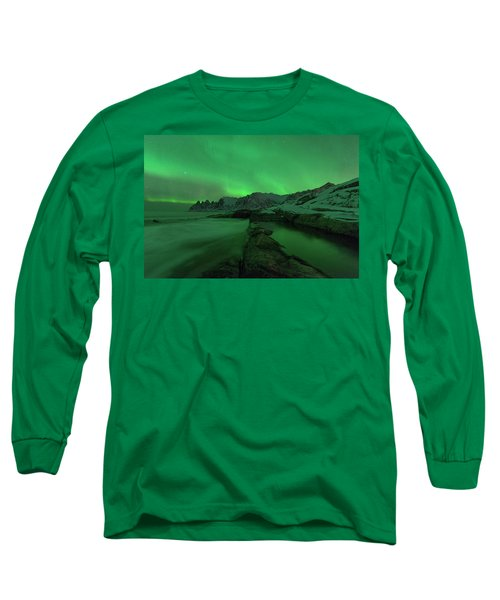 Long Sleeve T-Shirt featuring the photograph Electric Night by Alex Lapidus