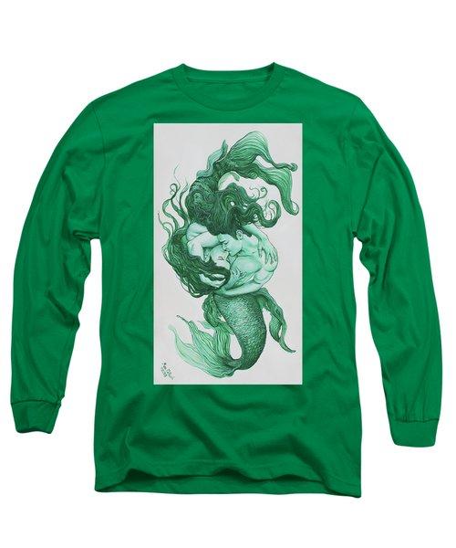 Embracing Mermen Long Sleeve T-Shirt