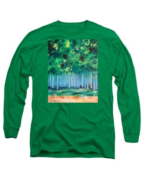 Enchanted Poplars Long Sleeve T-Shirt