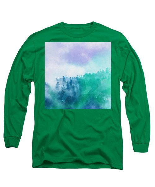 Long Sleeve T-Shirt featuring the photograph Enchanted Scenery by Klara Acel