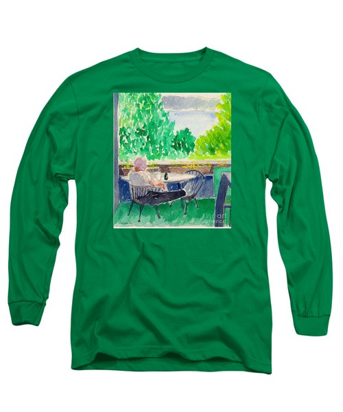 Enjoying The View-detail Long Sleeve T-Shirt