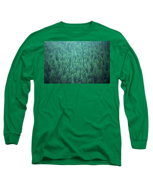 Long Sleeve T-Shirt featuring the photograph Evergreen by Laurie Stewart
