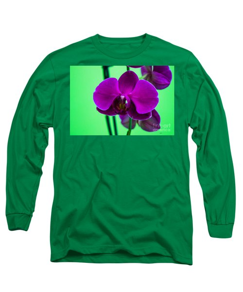 Exposed Orchid Long Sleeve T-Shirt