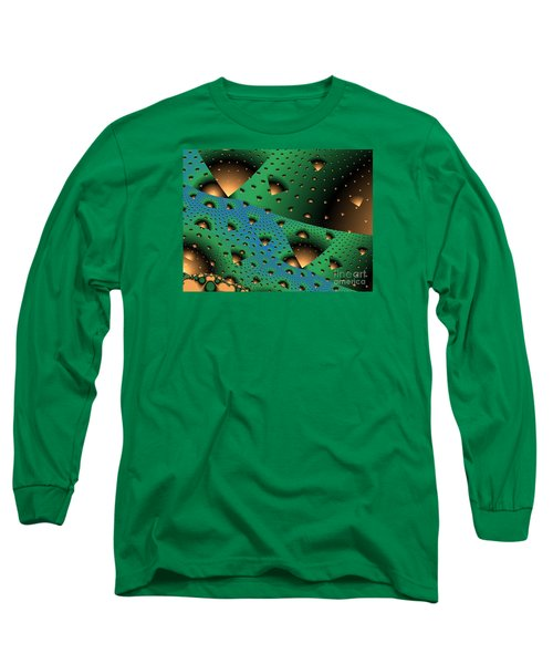 Facades And Fenestration Long Sleeve T-Shirt by Ron Bissett