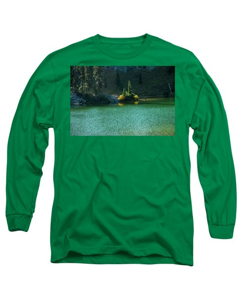 Fall Afternoon On Sheep Lake Long Sleeve T-Shirt