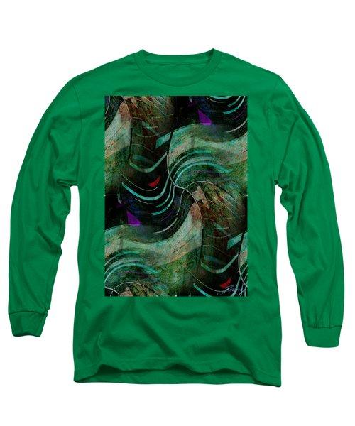 Fallen Angle Long Sleeve T-Shirt by Sheila Mcdonald
