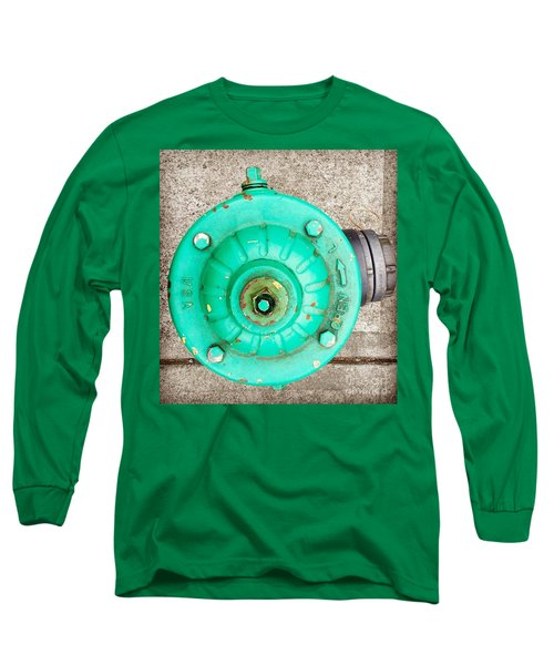 Fire Hydrant #6 Long Sleeve T-Shirt by Suzanne Lorenz