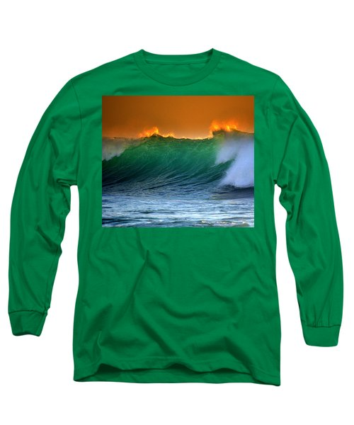 Fire Wave Long Sleeve T-Shirt