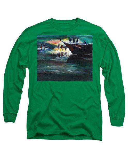 Fishing Line Long Sleeve T-Shirt