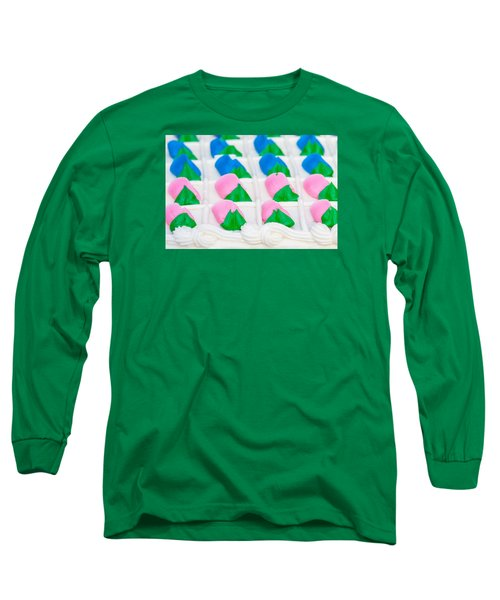 Fondant Close-up Long Sleeve T-Shirt