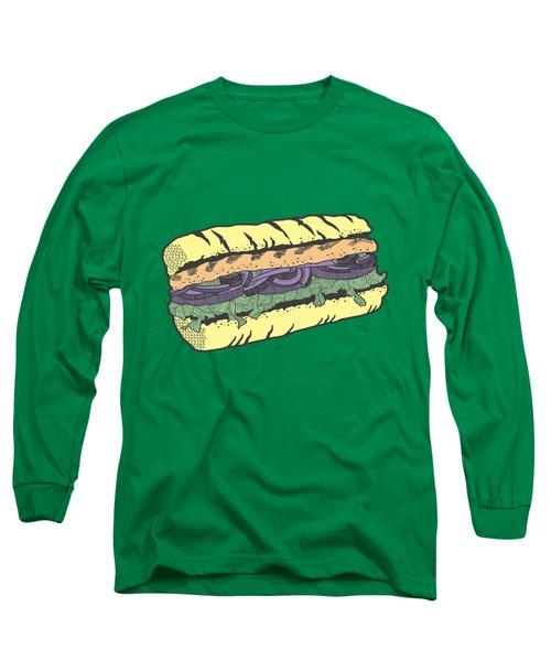 Food Masquerade Long Sleeve T-Shirt by Freshinkstain