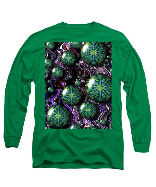 Fractal Abstract 7816.5 Long Sleeve T-Shirt
