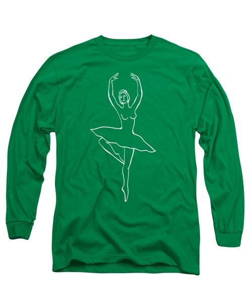 Frozen Dance Ballerina Long Sleeve T-Shirt