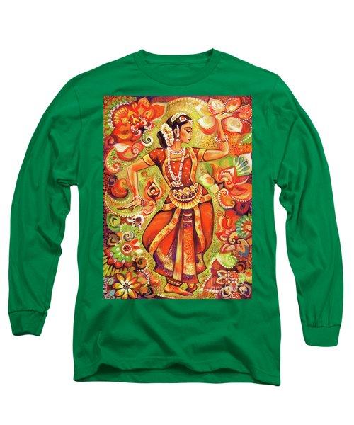 Ganges Flower Long Sleeve T-Shirt