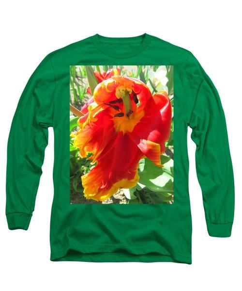 Garden Delight Long Sleeve T-Shirt by Brooks Garten Hauschild