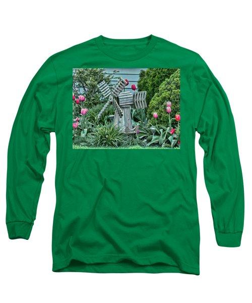 Garden Windmill Long Sleeve T-Shirt
