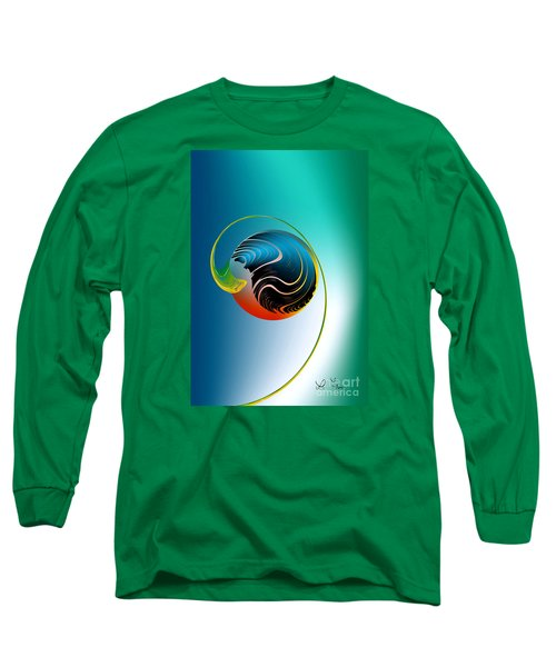 Genesis Long Sleeve T-Shirt by Leo Symon