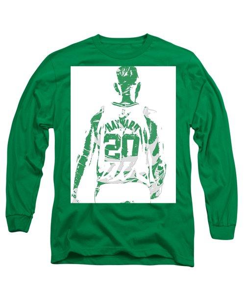 Gordon Hayward Boston Celtics Pixel Art T Shirt 5 Long Sleeve T-Shirt