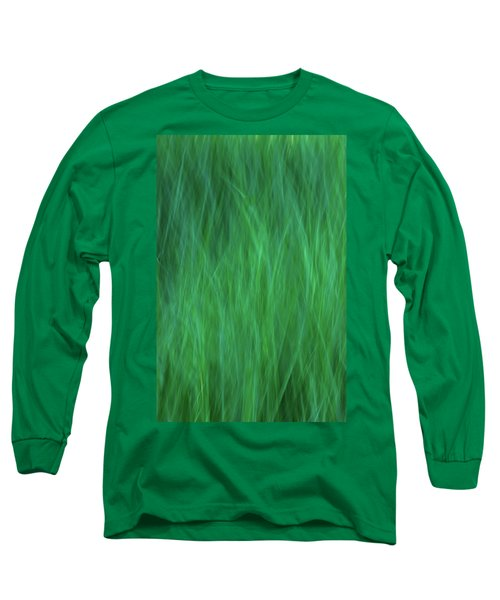 Green Fire 2 Long Sleeve T-Shirt